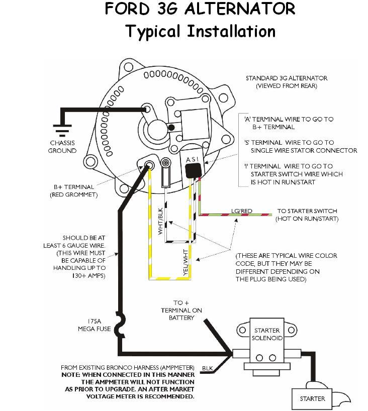 https://broncozone com/topic/26368-single-wire-alternator/