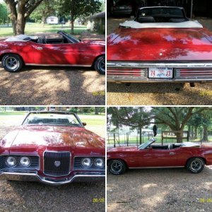 71 Cougar XR7 Convertible