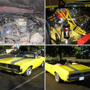 1969 Cougar,  Never finished, but close!