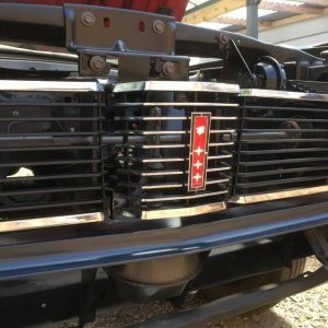 Restored Front Grill