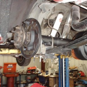 axle shafts in