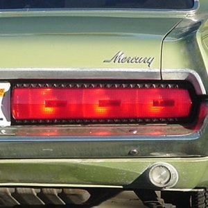 67 Tail Lights Installed