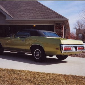 1973 Cougar XR7 Convertible
