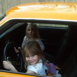Thelma and Louise  Age 4