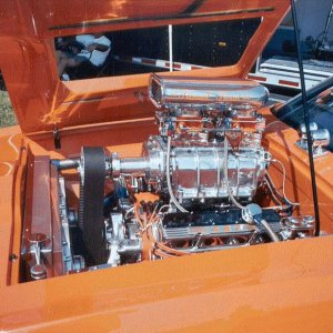 Wild 73 Cat engine
