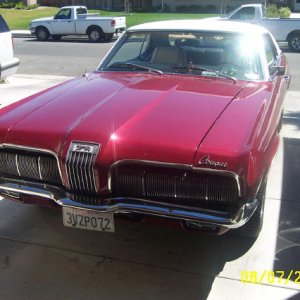 1970 Cougar front