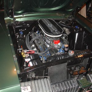 completed engine and compartment 3