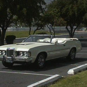 1973 COUGAR CONVERTIBLE    XR7