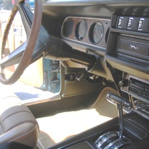 1969 XR7 Interior Front