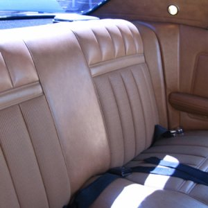 1969 XR7 Back Seat Interior