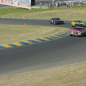 Vintage Cougars at Sears Point