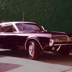Original 67 Cougar, photo taken 1967.