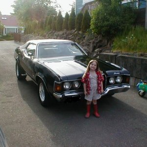 My daughter loves to ride around in the Coug