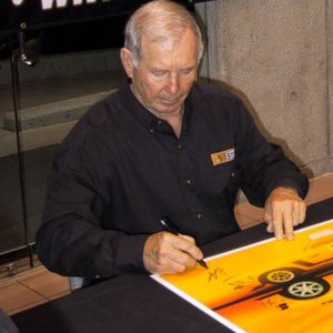 Parnelli Jones Autograph Session