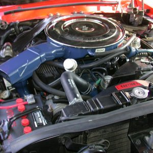 xr7-G engine compartment