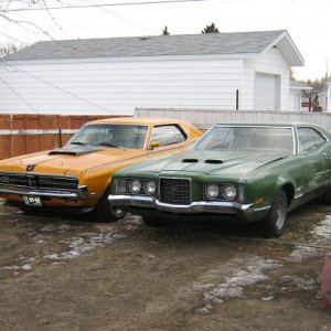 Montego GT and Cougar
