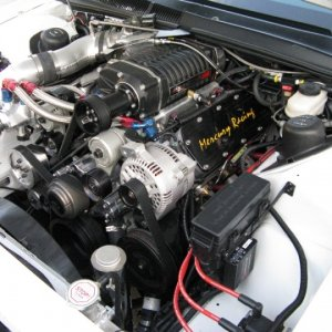 3.8L with 2.3 Whipple