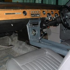 68 interior with Console