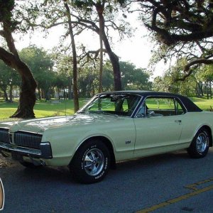 1967 Mercury Cougar Motor Trend Car of the Year.