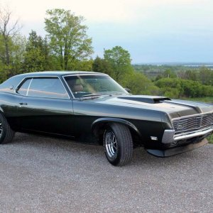 1969 Cougar XR7, Dark Ivy Green Metalic