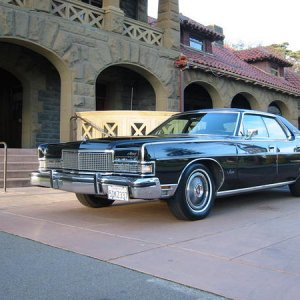 '73 Marquis Brougham 4-door pillared hardtop.  429 (4V), loaded with options, 77K miles (10/2010), mostly original paint, interior and trim.  An origi