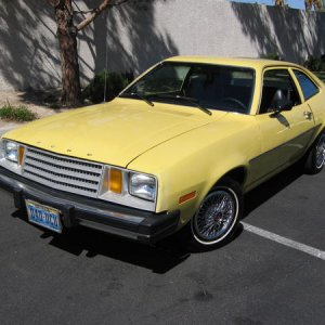 My automotive sense of humor:  an '80 Pinto Pony sedan with 62K miles (since sold).  This car has quite a bit of personality and was totally reliable!