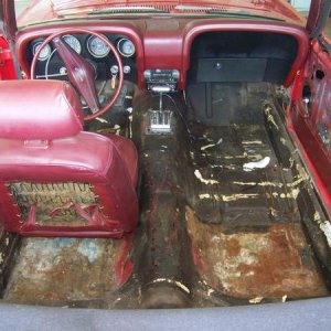 100 00861969 red mustang before