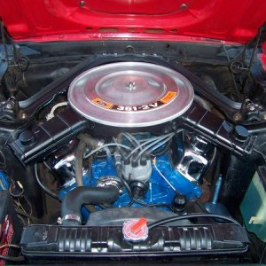 100 01741969 red mustang before