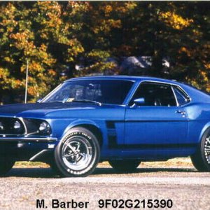 Trying to buy 1969 Mustang Fastback s code to turn into this