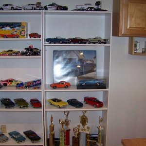 Diecast cougar collection