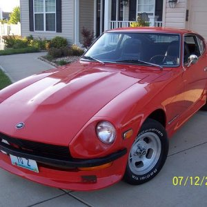 1973 Dtasun 240Z when I need to carve the canyon roads