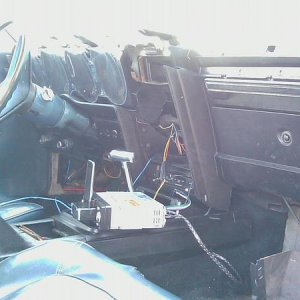 Interior(currently ripped apart due to audio installation