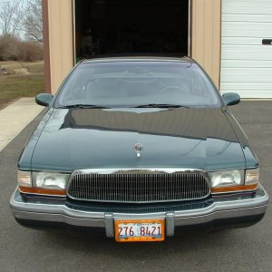 Here is the car I owned before the blue Mustang.  It's a '95 Buick Roadmaster.
