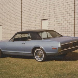 Another picture of my original 1968 Cougar....still have this car (but in need of another restoration).