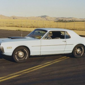 1968-1/2 Cougar, Standard Coupe, 428-CJ, 4-speed, w/ 3.50 gears. 1 of 48 made!